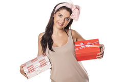 I love gifts Stock Photography