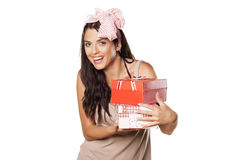 I love gifts Stock Images
