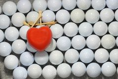 I love golf 2. I love to play golf all year Royalty Free Stock Photo