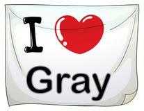 I love gray Stock Photos