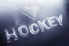 I Love Hockey Stock Photos