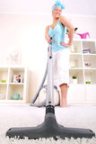 I love hoovering! Royalty Free Stock Images