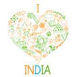 I love India Royalty Free Stock Photos