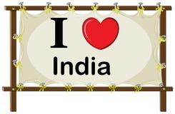 I love India Stock Image
