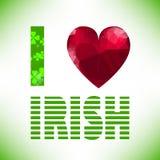 I love irish Royalty Free Stock Photo