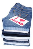 I love jeans Stock Photography