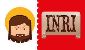 I love jesus design. Vector illustration eps10 graphic Royalty Free Stock Photo