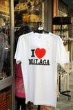 I Love Malaga Teeshirt. Stock Image