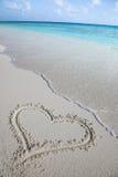 I love Maldives Royalty Free Stock Image