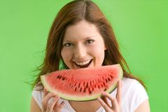 I love melons Royalty Free Stock Photo