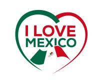 I love mexico Royalty Free Stock Photography