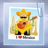 I love Mexico Royalty Free Stock Images