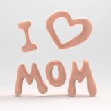 I love mom Royalty Free Stock Photo