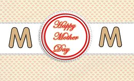 I love mom, illustration. Photo of abstract image, I love mom with decoration, illustration, to beautify a website. Enriched your website professionally with Royalty Free Stock Photo