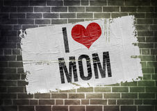 I love mom Royalty Free Stock Images