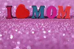 I Love Mom Royalty Free Stock Image