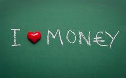 I love money Stock Photo