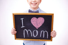 I love mother Stock Photo