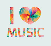 I love music Royalty Free Stock Images