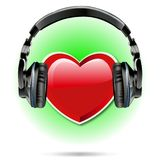 I love Music 2 beat vector. I love Music Modern Style Background beat vector for use Royalty Free Stock Photo