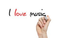I love music Stock Photos