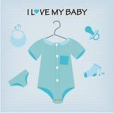 I love  my baby Stock Image