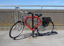 I love my bike Royalty Free Stock Photos