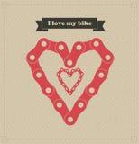 I love my bike Royalty Free Stock Image