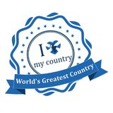 I love my country - Scotland, world`s greatest country. Royalty Free Stock Photography