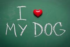 Free I Love My Dog Stock Photos - 42541203