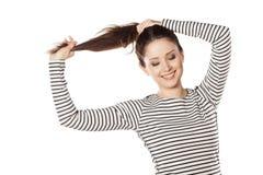 I love my hair stock photography