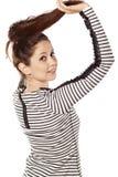 I love my hair Royalty Free Stock Photography