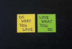 I love my job concept stock image