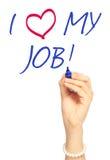 I Love My Job! Stock Photo