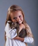 I love my kitten Stock Photo