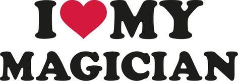 I love my Magician. Vector Royalty Free Stock Image