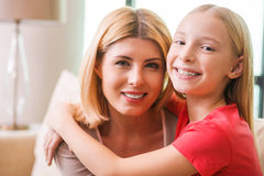 I love my mom! Royalty Free Stock Images