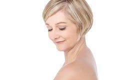 I love my skin. Royalty Free Stock Photo