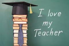 I love my Teacher Royalty Free Stock Photos