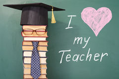 I love my Teacher Royalty Free Stock Images