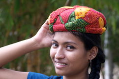 I love my turban Stock Photo