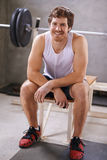 I love my workout time stock photo