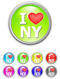 I love new york Royalty Free Stock Images