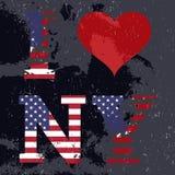 I love New York banner Stock Photos