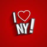 I Love New York Stock Photos