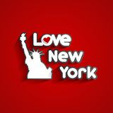 I Love New York Stock Image