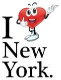 I love New York Royalty Free Stock Photography