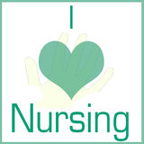 I love nursing Stock Photo