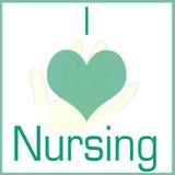 I love nursing Stock Photo