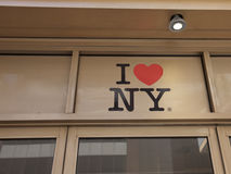 I Love NY, Store, USA. I Love NY, Store in Manhattan, New York City, USA royalty free stock photos